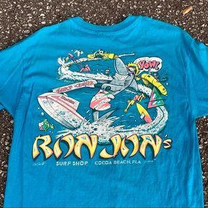 Other - vintage distressed Ron Jon surf tee